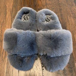 Victoria's Secret plush slippers